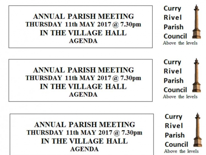 Annual Parish Meeting 2017