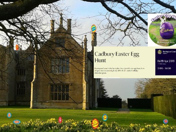 Barrington Court Easter Egg Hunt 2019