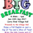 Big Breakfast 10th Sep 2017