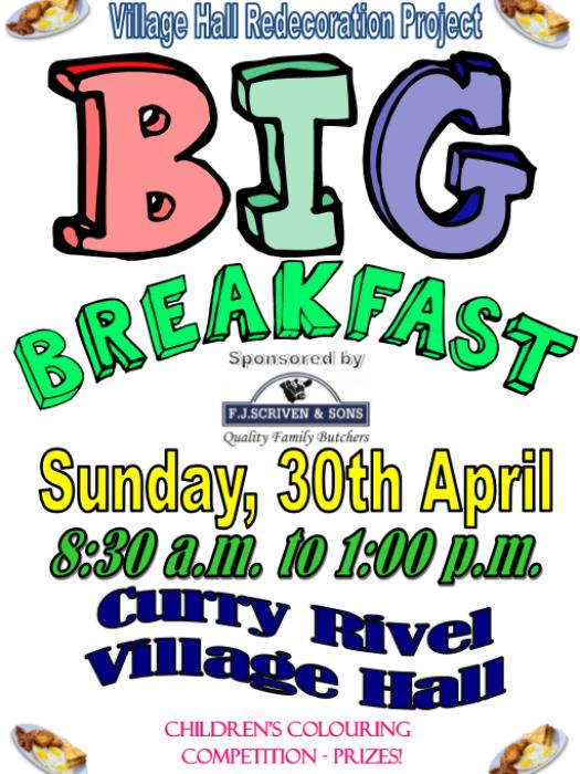 Big Breakfast 30th April 2017