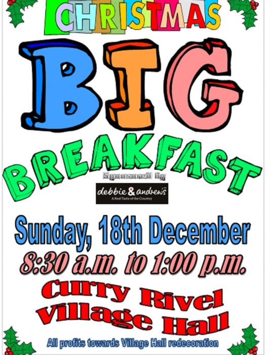 Big Breakfast Poster Dec 18th 2016
