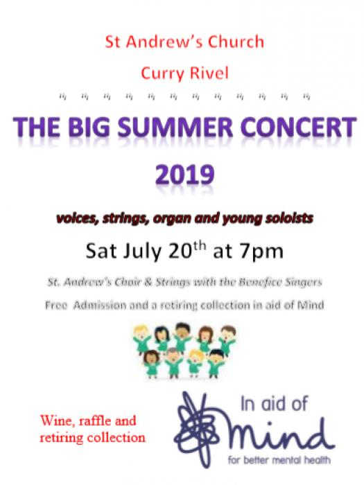 Big Summer Concert 20th July 2019