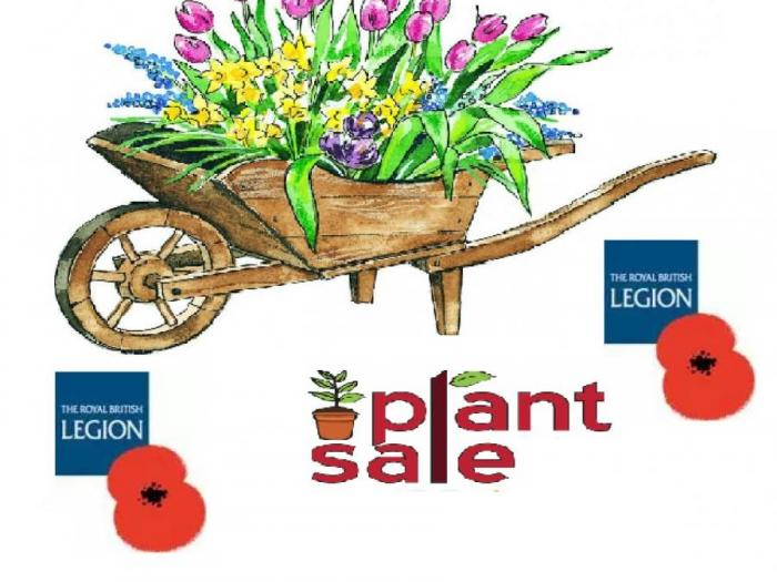 British Legion Plant Sale