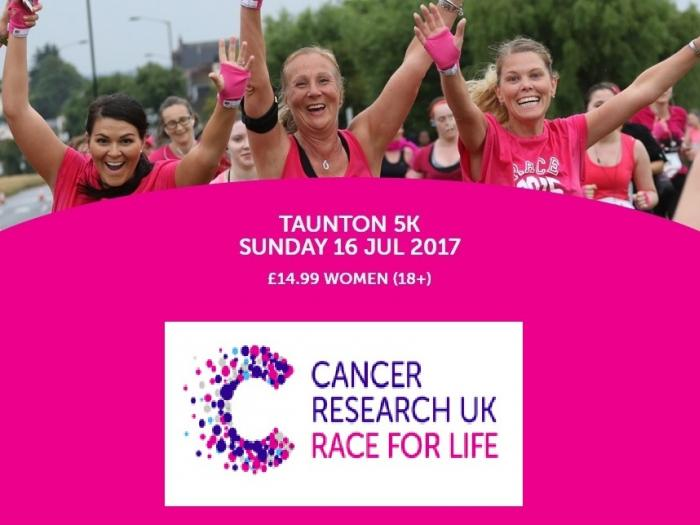 Cancer UK Race for Life Taunton 5K