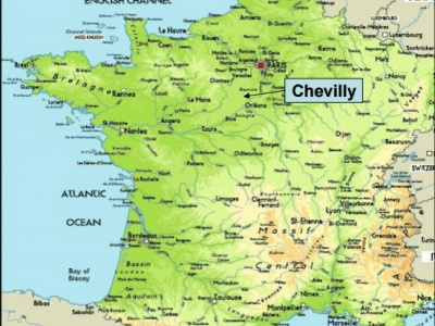 Chevilly Map
