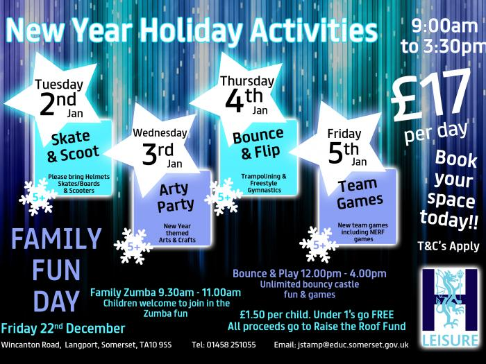 Christmas Holiday Activities 2017