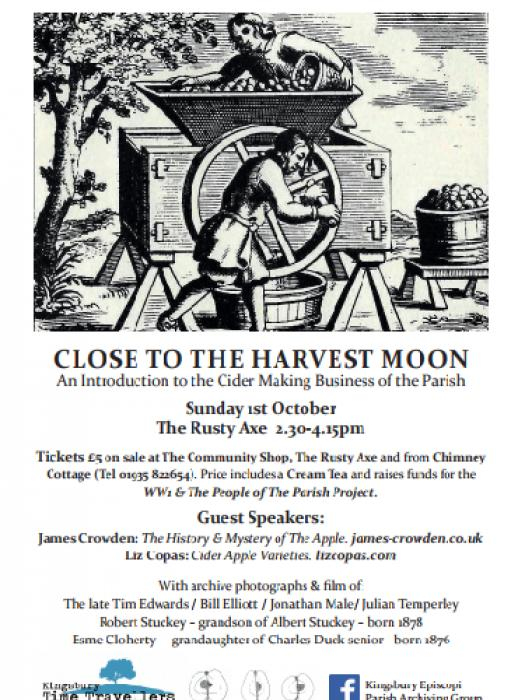 Close to the Harvest Moon Cider poster