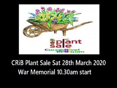 Crib plant sale  Mar 2020