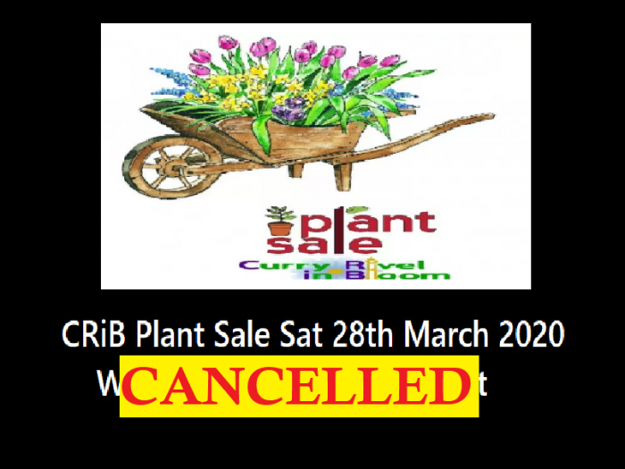 Crib plant sale  Mar CANCELLED