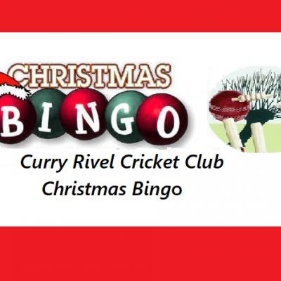 Cricket Club Xmas Bingo