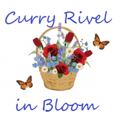 Curry Rivel in Bloom logo