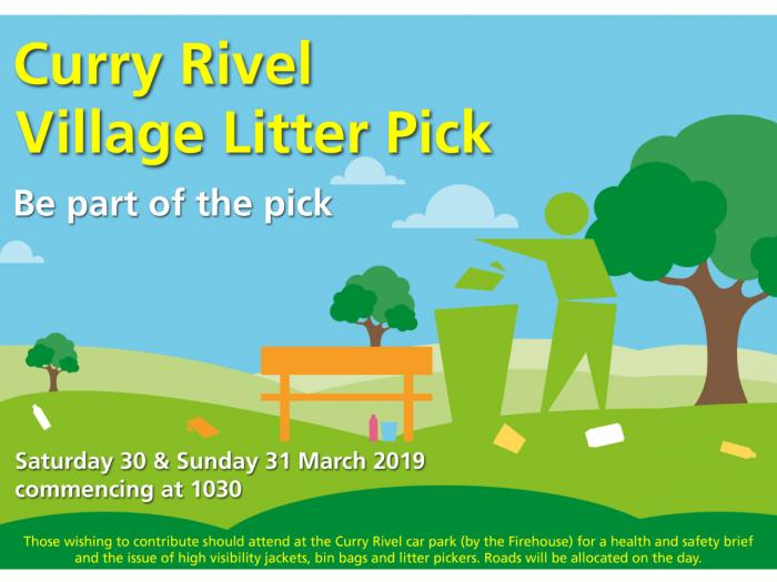 Curry Rivel Litter Pick 2019