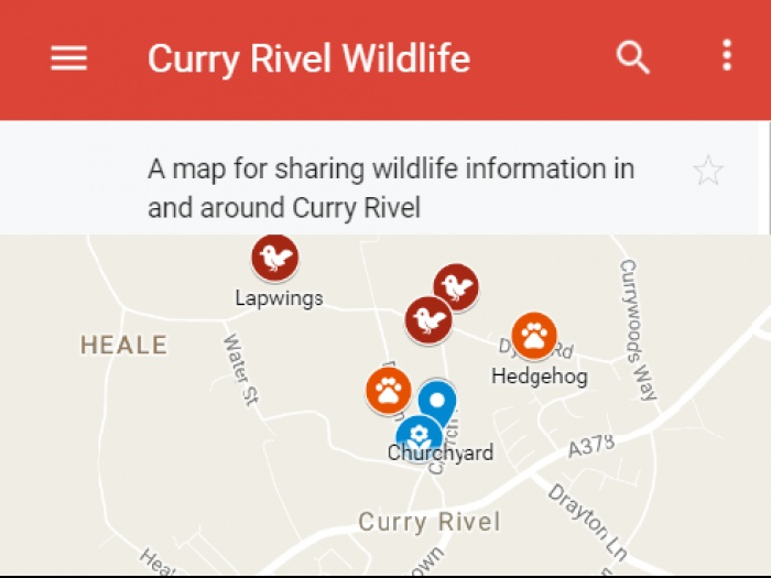 Curry Rivel Wildlife Logo