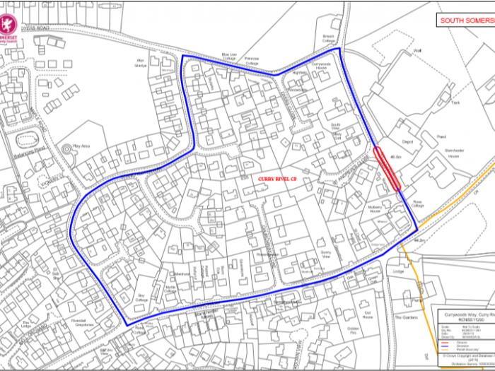 Curry Woods Way Road Closure 10 June 2019