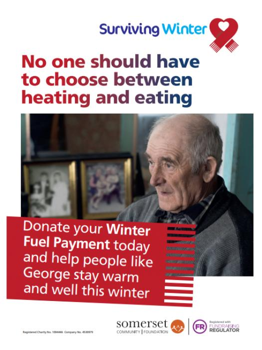 Donating Winter Fuel Payment 1