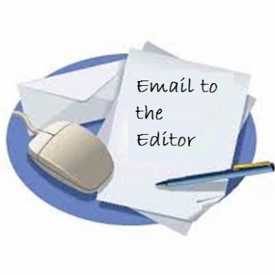 Email to the Editor