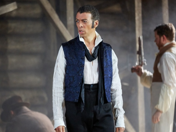 EUGENE ONEGIN Garsington Opera 2016- Roderick Williams in title role credit Mark Douet