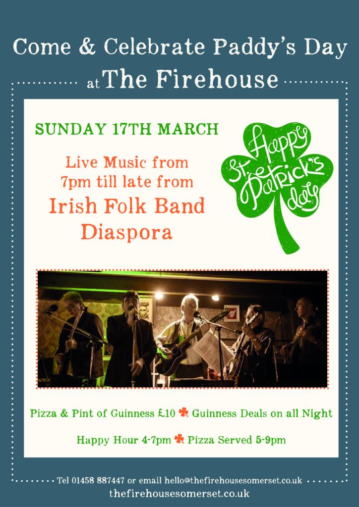 Firehouse St Patricks Day