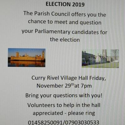 General Election Hustings 29th Nov 2019