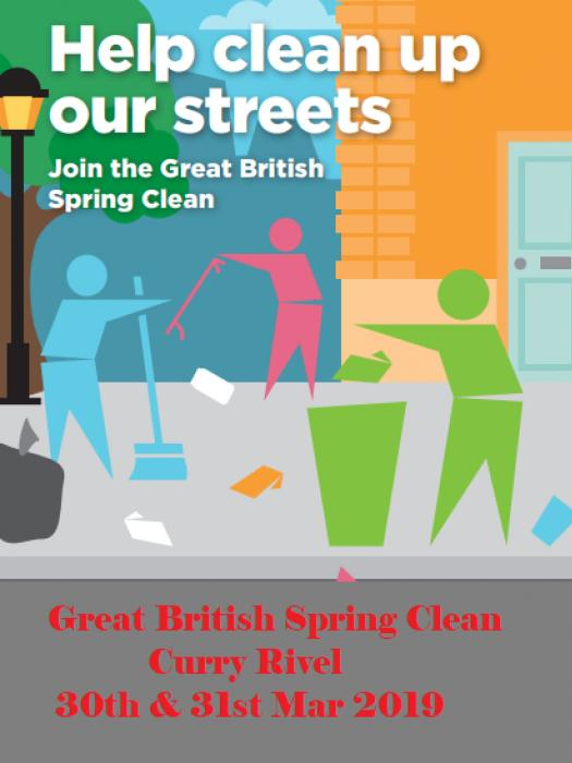 Great GB SPring Clean 30 31st Mar