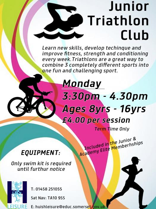 Huish Junior Triathlon Club