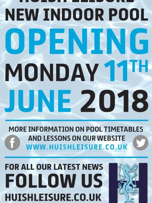 Huish pool opening