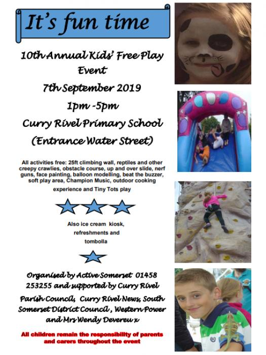 Image: 10th Annual Play Day 7th Sept 2019