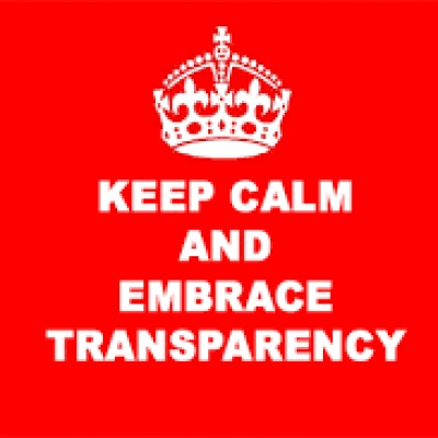 keep calm transparency