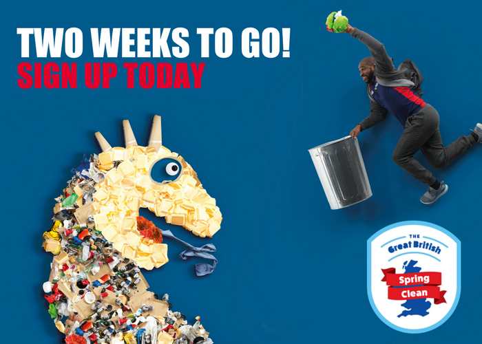 Keep GB Tidy Two Weeks To Go