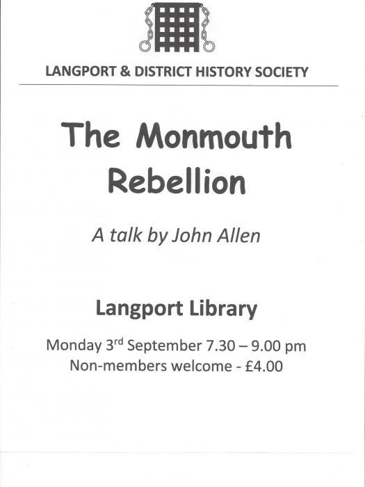 L&DHS- Monmouth Rebellion