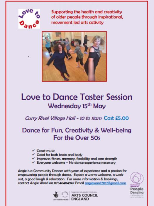 Love To Dance Taster 15th May 2019