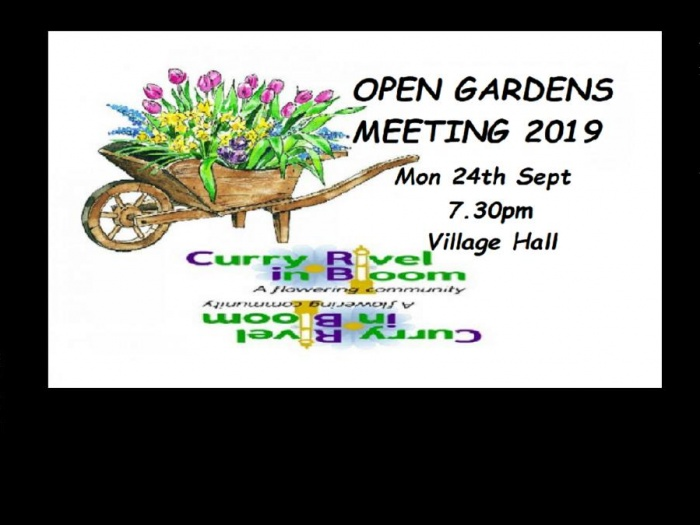 Open Gardens Meeting 2019