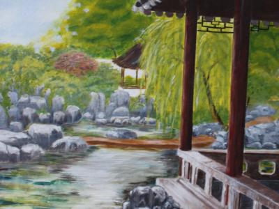 Oriental Garden - Art Group Oct 2017