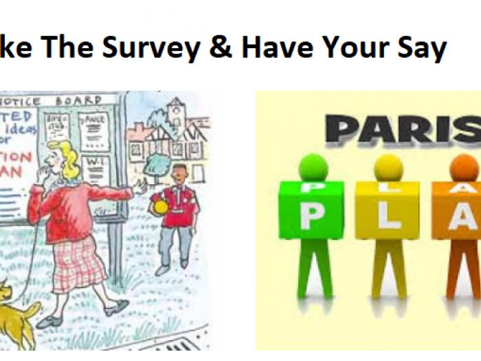 Parish Plan Have Your Say Take the Survey