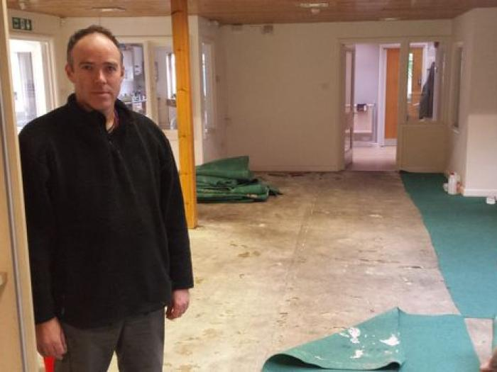 PeterStaddon school head after Feb 16 floods