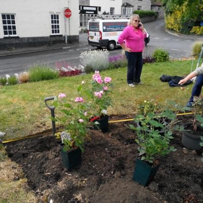 Planting at Madelaines 3rd June 2019 1
