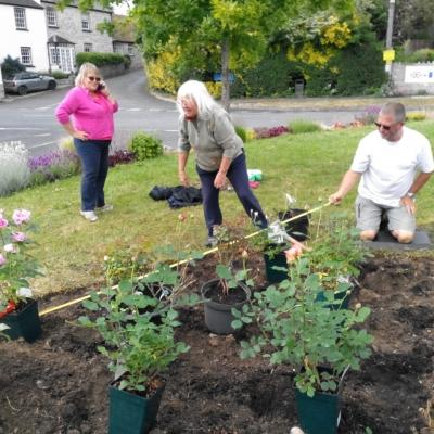 Planting at Madelaines 3rd June 2019 2