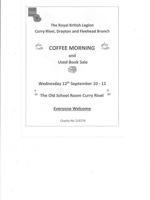 RBL Coffee Morning 12Sept2018