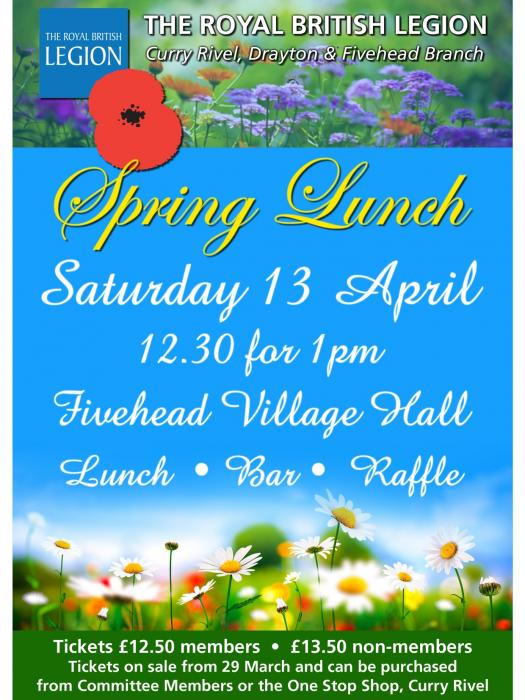 RBL Spring lunch April 2019