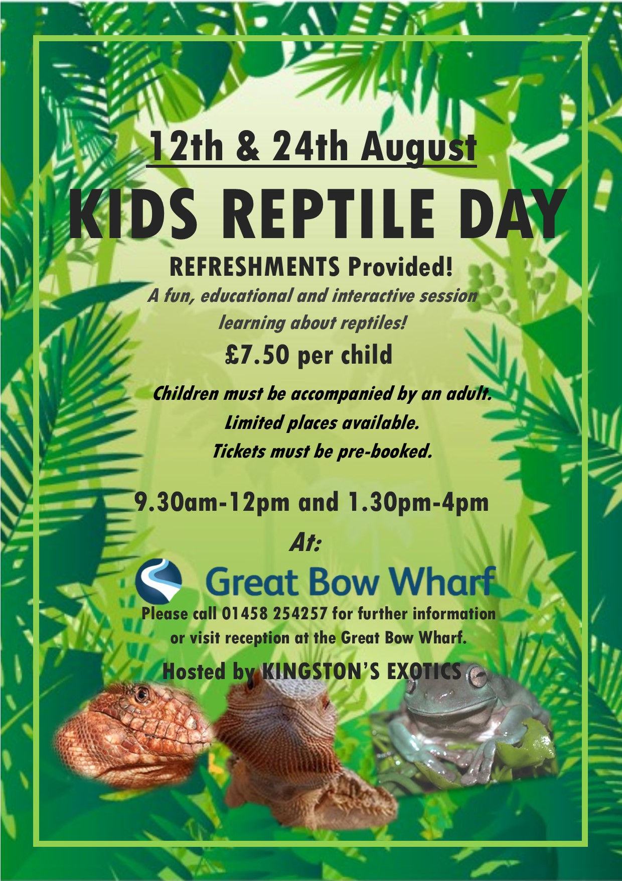 Reptile Day Poster