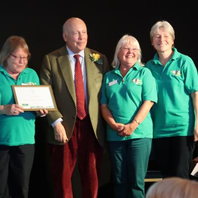 RHS SW in Bloom Awards 11th Oct 2019 7 Gold Champion of Champions