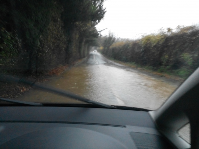 Road between Curry and Langport