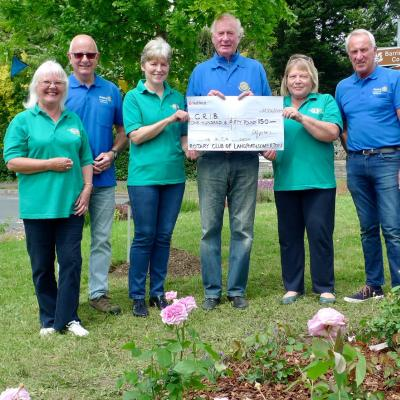 Rotary CRIB June 2019 Donation