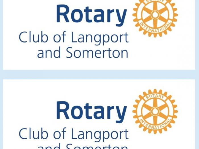 Rotary Langport and Somerton Logo