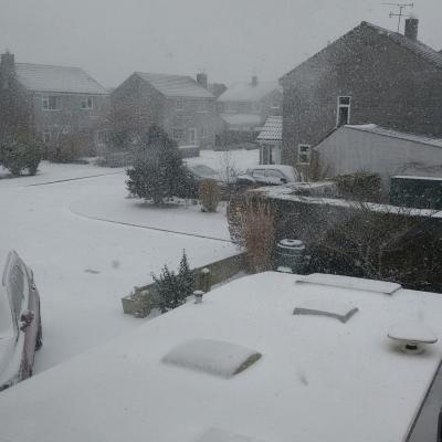 Snow in Curry Rivel 1st March 2018 4 (Edenhurst)