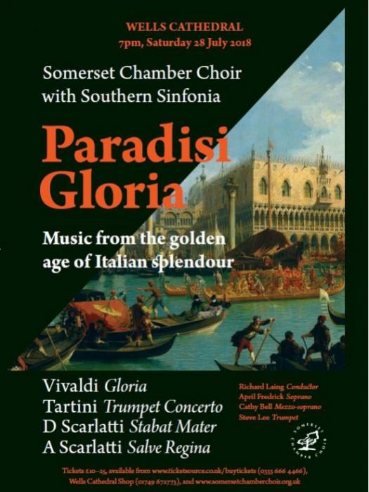 Somerset Chamber Choir Paradisi Gloria