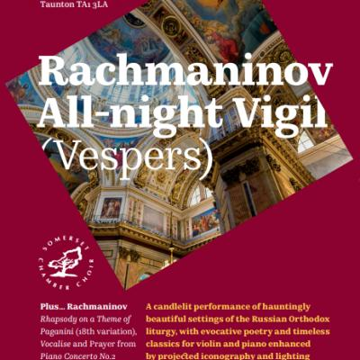 Somerset Chamber Choir Rach Vespers