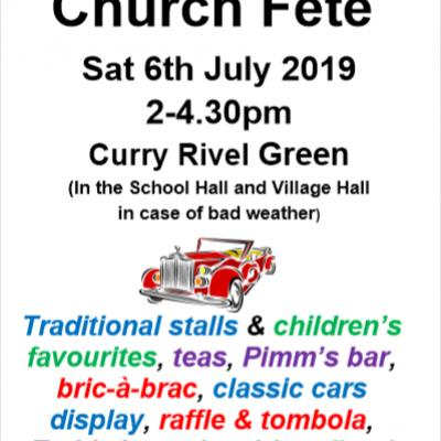 St Andrews Church Fete 6th July 2019