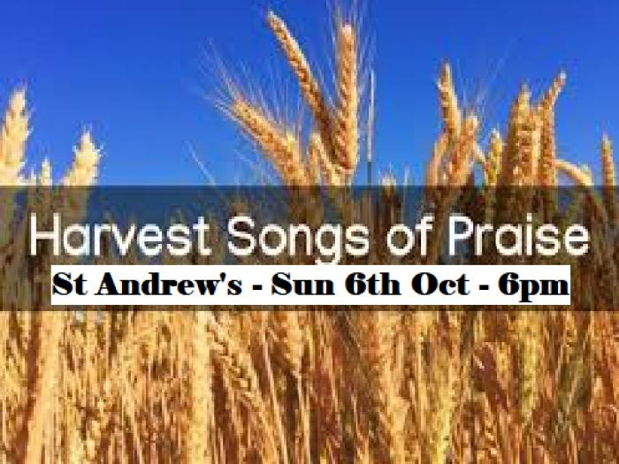 St Andrews Harvest Songs of Praise
