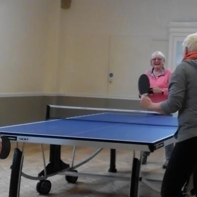 Table Tennis Screen
